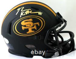 George Kittle Signed San Francisco 49ers Eclipse Mini Helmet Beckett W Auth