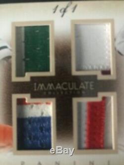 Immaculate Quad 1/1 Joe Montana Tom Brady Joe Namath John Elway