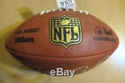JERRY RICE Signed Autographed Official NFL The Duke Football PSA #AD89369
