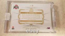 JOE BURROW 2020 FLAWLESS BLACK #1/1 PATCH CARD Ohio State 1 of 1 WOW