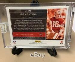JOE MONTANA 2019 Panini ONE Dual Patch ON CARD AUTOGRAPH GOLD 5 /5 Ebay 1/1