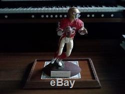 Joe Montana (hof) San Francisco 49ers Autographed Gartlan Statue #1349/2250
