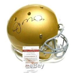 JSA Joe Montana Full Size Signed Autograph FS Football Helmet 49ers Notre Dame