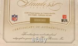 Jerry Rice 2015 San Francisco 49ers Panini Flawless Game-Used Jersey Auto SSP/25