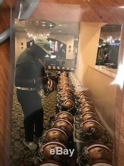 Jerry Rice 49ers Autographed Full Size Russell Replica Helmet Radtke COA