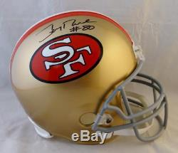 Jerry Rice #80 Autographed San Francisco 49ers F/S 64-95 TB Helmet- Beckett Auth