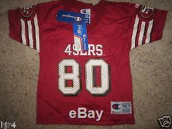 Jerry Rice #80 San Francisco 49ers NFL Champion Jersey Toddler 3T NEW