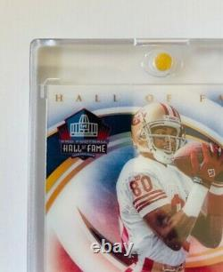 Jerry Rice Auto Hall of Fame Edition Immaculate Collection 10/10 Ebay 1/1