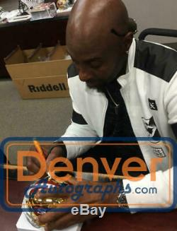 Jerry Rice Autographed/Signed San Francisco 49ers Chrome Mini Helmet BAS 22189