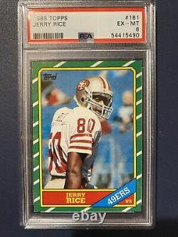 Jerry Rice Rookie Card-PSA 6! Just Graded