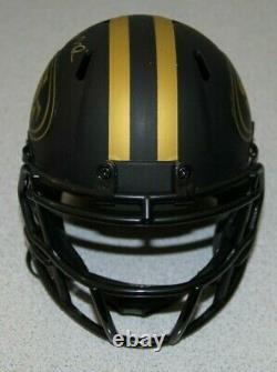 Jerry Rice/joe Montana Signed Auto Speed Eclipse Alt Mini Helmet Jsa Witnessed
