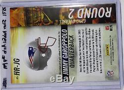 Jimmy Garoppolo 2014 14 Score Hot Rookies Silver Autograph Rc #d/99 Refractor $