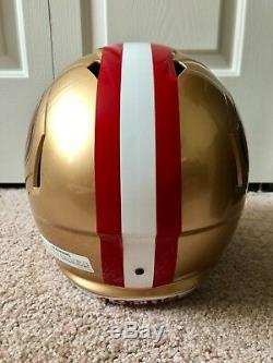 Jimmy Garoppolo Autographed San Francisco 49ers Full Size Helmet Tristar