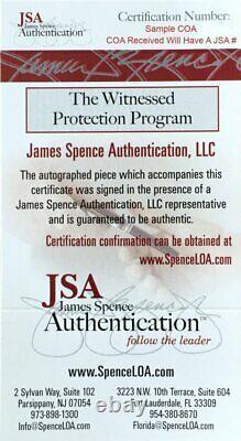 Joe Montana Autographed Custom San Francisco 49ers White Jersey Coa Jsa