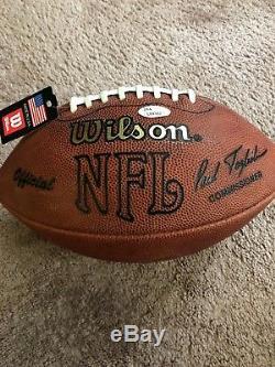 Joe Montana Autographed Official NFL Football JSA COA