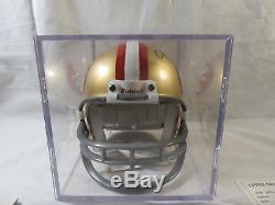 Joe Montana Autographed San Francisco 49ers Mini Helmet Upper Deck COA