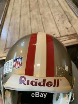 Joe Montana Autographed/Signed Authentic Full Size Helmet San Francisco 49ers