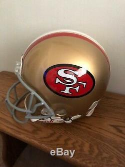 Joe Montana Autographed Signed FS Proline Game Helmet Tri-Star COA