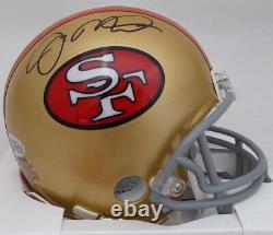 Joe Montana Autographed Signed San Francisco 49ers Mini Helmet Beckett 135946