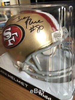 Joe Montana / Jerry Rice Autographed Mini Helmet Pinpoint Authentication Auto