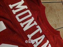 Joe Montana San Francisco 49ers Mitchell & Ness 1989 Authentic Jersey Men's 44 L