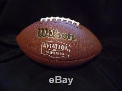 Joe Montana Signed Authentic Autographed Football W-Case San Francisco 49ers