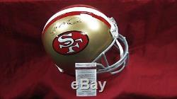 Joe Montana Signed Auto San Francisco 49ers F/S PROLINE Helmet JSA WP788053