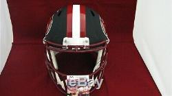 Joe Montana Signed Autograph SF 49ers Matte Black F/S Helmet JSA WPP452644