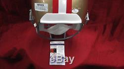 Joe Montana Signed Autograph San Francisco 49ers F/S Replica Helmet JSA COA
