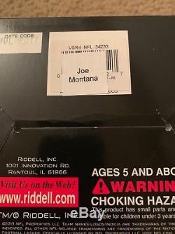 Joe Montana Signed/Autographed San Francisco 49ers Mini Helmet JSA