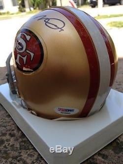 Joe Montanasignedautographedsan Francisco49ersminihelmetpsa/dnafootball