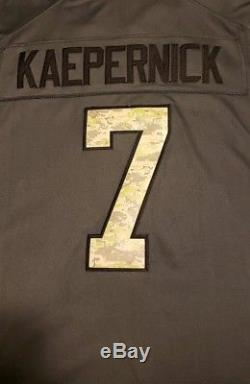 Men's San Francisco 49ers Colin Kaepernick Nike Salute To Service Limited Jersey