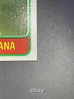 Mint! Perfect! 1981 Topps Joe Montana Rookie Razor Corners Centered-psa 10 #99b