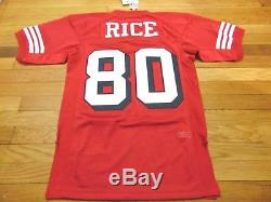 Mitchell & Ness NFL San Francisco 49ers Jerry Rice Authentic Jersey Size S 36