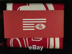 NEW 2015 San Francisco 49ers Faithful Flag SBL Ticket Holder Exclusive