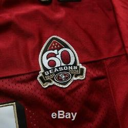 NEW Authentic San Francisco 49ers Frank Gore On Field Jersey by Reebok Sewn Vtg