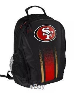 NFL San Francisco 49ers 2016 Prime Backpack Bag (school, sport, work)