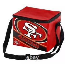 NFL San Francisco 49ers 2019 Insulated Lunch Bag Cooler (6 Pack)