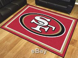 NFL San Francisco 49ers 8'x10' Rug