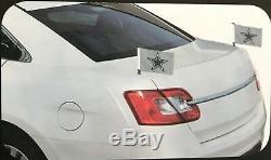 NFL San Francisco 49ers Ambassador Hood / Trunk Car Flag- Set of Two