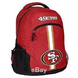 NFL San Francisco 49ers Backpack Bag(school, sport, work)
