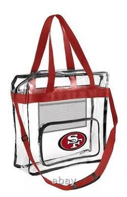 NFL San Francisco 49ers Clear High End Messenger Meet Stadium Security Req