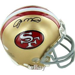 NFL San Francisco 49ers Joe Montana Signed Replica Mini Helmet