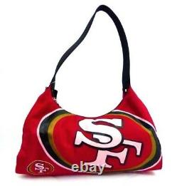 NFL San Francisco 49ers Ladies Purse with pink lettering
