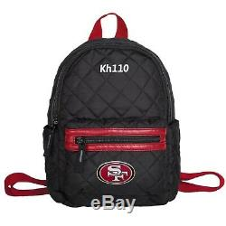 NFL San Francisco 49ers Quilted Mini Backpack