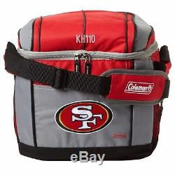 NFL San Francisco 49ers Soft Sided 24 Can Insulated Cooler by Coleman