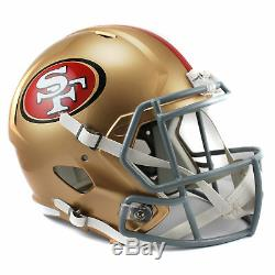 NFL San Francisco 49ers Speed Replica Helmet Unisex Fanatics