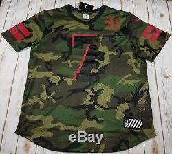 NIKE 49ers #7 Colin Kaepernick Field General Camo Jersey 698899 274 -Men XXL New