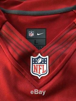 NWT NIKE AUTHENTIC LIMITED JERRY RICE 49ERS RED HOME JERSEY sz L 468937-698
