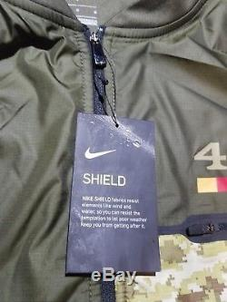 NWT Nike San Francisco 49ers Salute to Service Hybrid Pullover Jacket Men's L